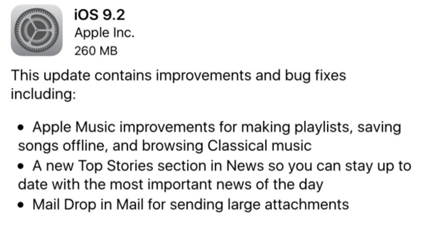 watchOS 2.1 Updated